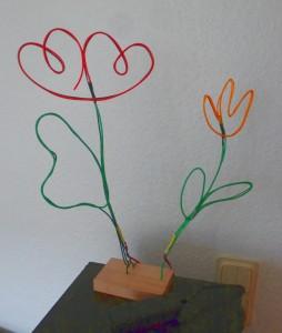 Leuchtblumen aus