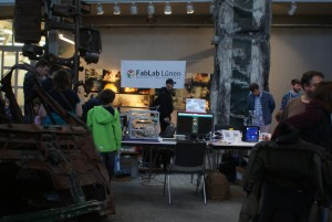 Fablab Lünen auf der Maker Faire Ruhr 2017